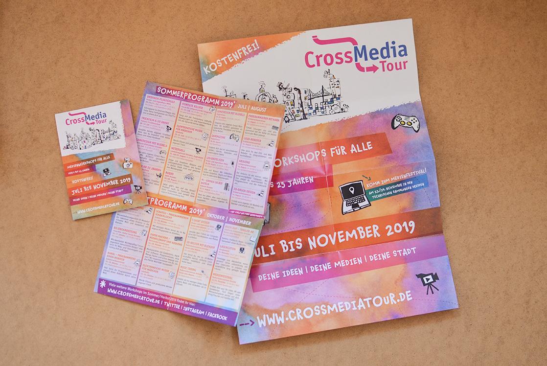 Programmflyer Crossmedia Tour 2019